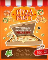 Cartaz do partido da pizza