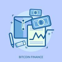 yen financiar conceitual ilustração design
