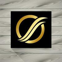 Logotipo de ouro vetor