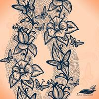 Infinitamente papel de parede, decoração para o seu design, lingerie e jóias. vetor
