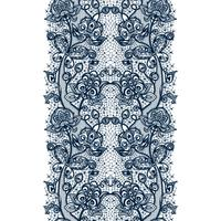 Teste padrão sem emenda da fita abstrata do laço com flores dos elementos. Modelo de design de moldura para o cartão. vetor