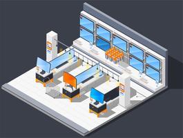 Composição de loja de televisão