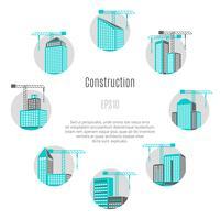 Ilustração do conceito de construção vetor