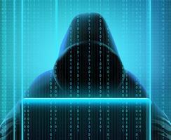 Composição realista do código hacker