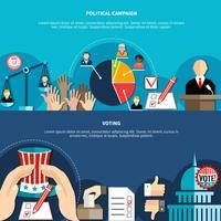 Conceito de eleições do governo vetor