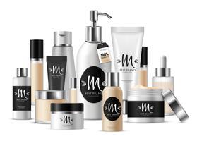 Composição de modelo cosmético