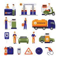 Conjunto de Postos de Gasolina