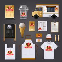 Sorvete Venda Design Set