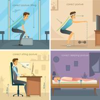 Conceito de Design Postura 2x2