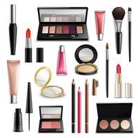 Maquiagem Cosméticos Acessórios Realistic.Items Collection