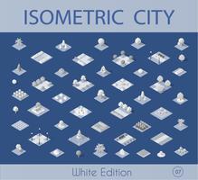 Coleção de conjunto isométrico vector