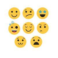 conjunto de vetores de emojis