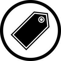 Design de ícone de marca vetor