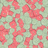 Plano de fundo sem emenda com botões coloridos. ilustração vetorial