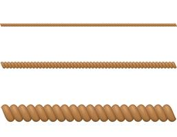 ilustração vetorial de corda