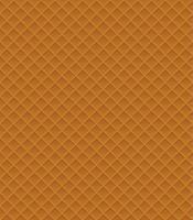 ilustração em vetor waffle padrão sem emenda