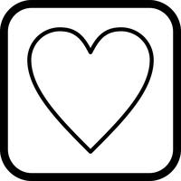 Design de ícones favoritos