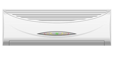 ilustração vetorial de ar condicionado
