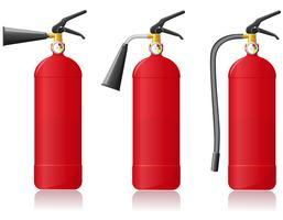ilustração em vetor extintor de incêndio