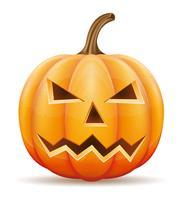 ilustração do vetor de abóbora de halloween