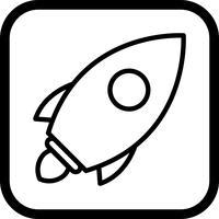 Lançamento, ícone, desenho vetor