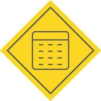 Design de ícone de calculadora vetor