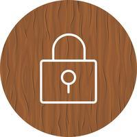 Ícone de bloqueio de design vetor