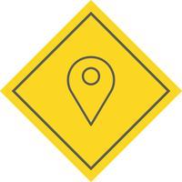 Design de ícone de localização vetor