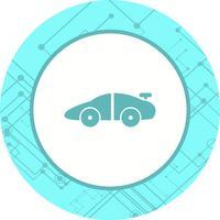 Design de ícone de carro esportivo