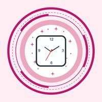 Relógio ícone do design vetor