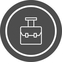 Design de ícone de saco