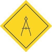Bússola ícone do design vetor