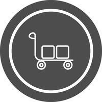 Design de ícone de carrinho
