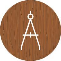 Bússola ícone do design