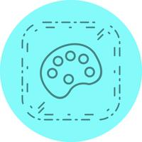 Design de ícone de paleta de cores