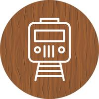 Trem ícone de design