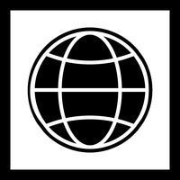 Ícone do design web vetor