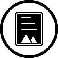 Design de ícone de documento vetor