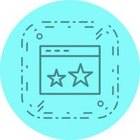 Starred Icon Design