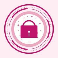 Design de ícone de segurança vetor