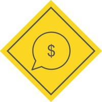 Envie dinheiro ícone Design