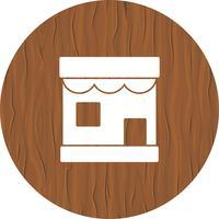 Design de ícone de loja vetor