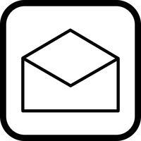 Design de ícone de envelope vetor