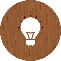 Projeto do ícone do bulbo vetor