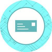 Design de ícone de cartão de identificação