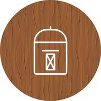 Design de ícone de caixa postal vetor