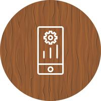 Design de ícone de marketing móvel vetor
