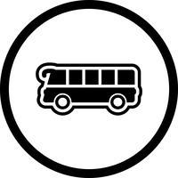 Design de ícone de ônibus