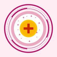 Design de ícone de sinal médico