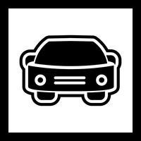 Ícone do carro vetor